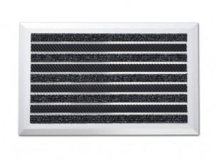 Fussmatten Aussenbereich türmatten fußabtreter aus aluminium edelstahl floordirekt de