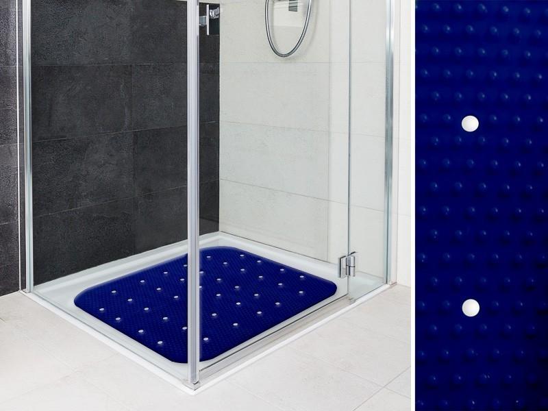 Die Dusch- und Badewannen-Matte Relax bringt nicht nur Farbe ins Spiel, sie erhöht auch die Sicherheit