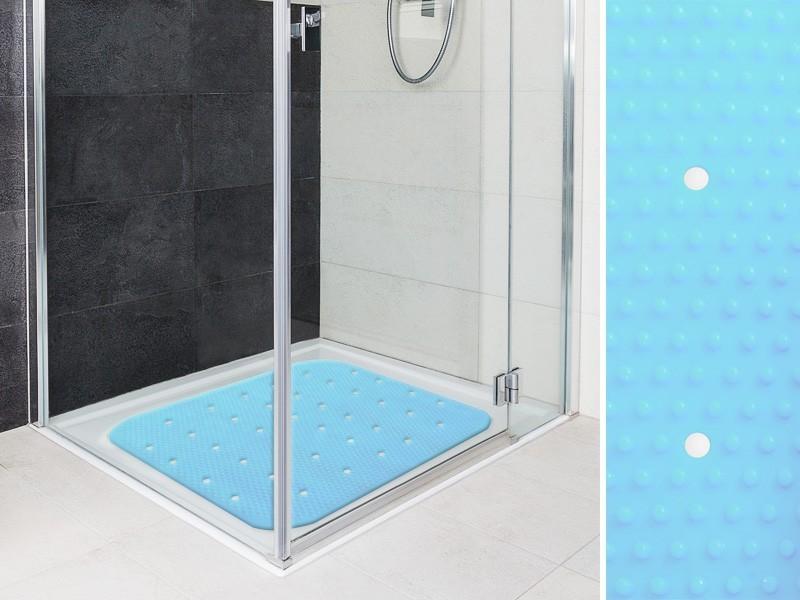 Antirutschmatte Dusche Test : Antirutschmatte Dusche Test : Wanneneinlage Relax Himmelblau Casa Pura