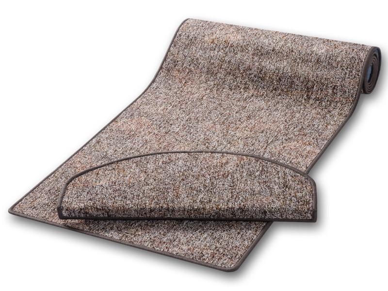 TeppichLäufer braun auf Mass  hergestellt in Deutschland