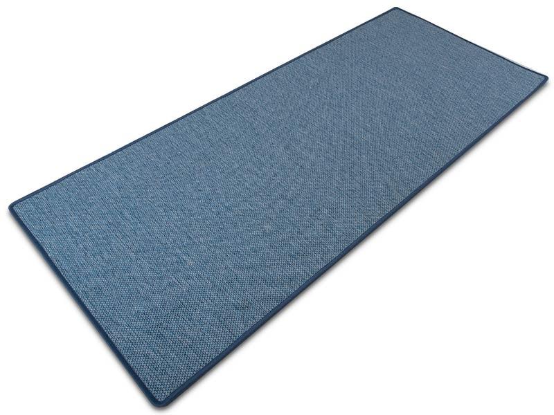 Stufenmatten Sisaloptik blau  Floordirektde