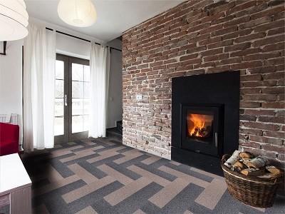 """Viel Raum für eine schnelle und individuelle Gestaltung - die Teppichdielen """"Pine"""""""