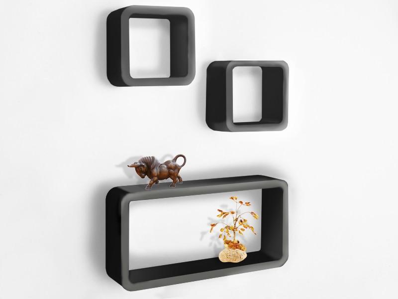 wandregal w rfel wei orange. Black Bedroom Furniture Sets. Home Design Ideas