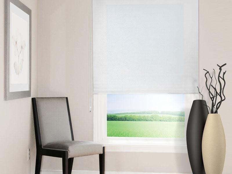 sichtschutz rollo. Black Bedroom Furniture Sets. Home Design Ideas