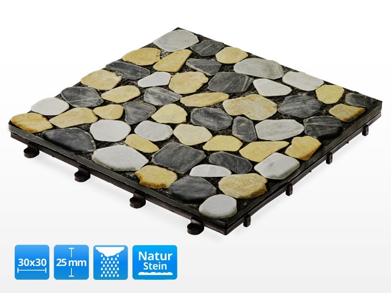 terrassenfliese mosaik bunt. Black Bedroom Furniture Sets. Home Design Ideas