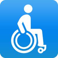 Ringgummimatten Octo-Roll sind mit Rollstühlen, Einkaufswagen, Trolleys, Sackkarren usw. komfortabel befahrbar