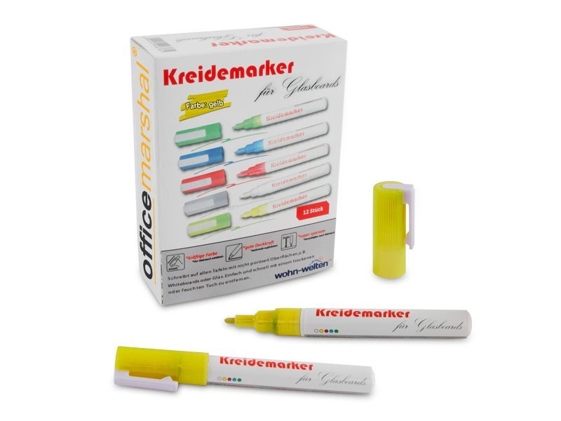 Kreidestifte - 12er-Set Gelb