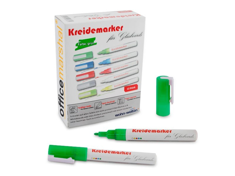 Kreidestifte - 12er-Set Grün