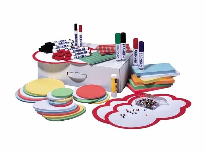 Moderationsbox - Zubehör-Set mit 1500 Teilen
