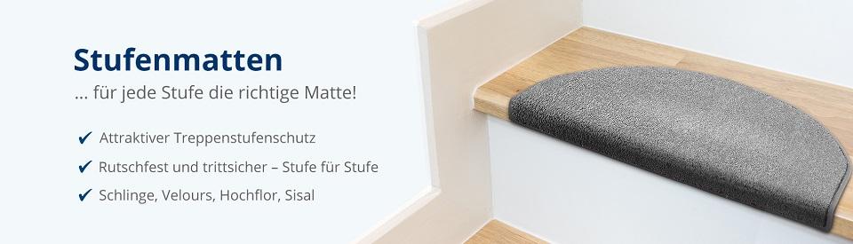 Treppen-Stufenmatten ab 1,99 € | Floordirekt.de