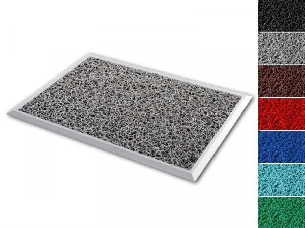 Aluminium-Desinfektionsmatte Hygienic Mat   Mit Spaghetti-Matten-Einlage
