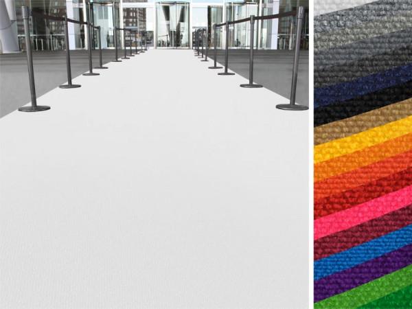 Event- und Messeteppich auf Maß | Expo | 2 Breiten | 18 Farben