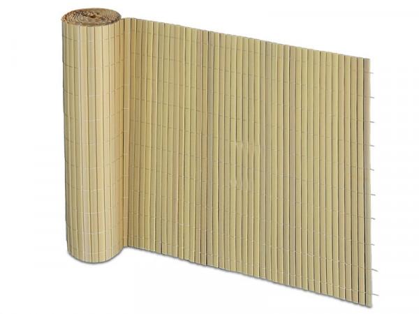 Pvc Sichtschutz Zaun Bambus Optik Floordirekt De