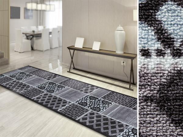 moderner teppich l ufer auf ma. Black Bedroom Furniture Sets. Home Design Ideas
