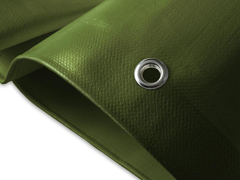Abdeckplane 140g//m² Gewebeplane in weiß und grün Möbelabdeckung Abdeckplanen WOW