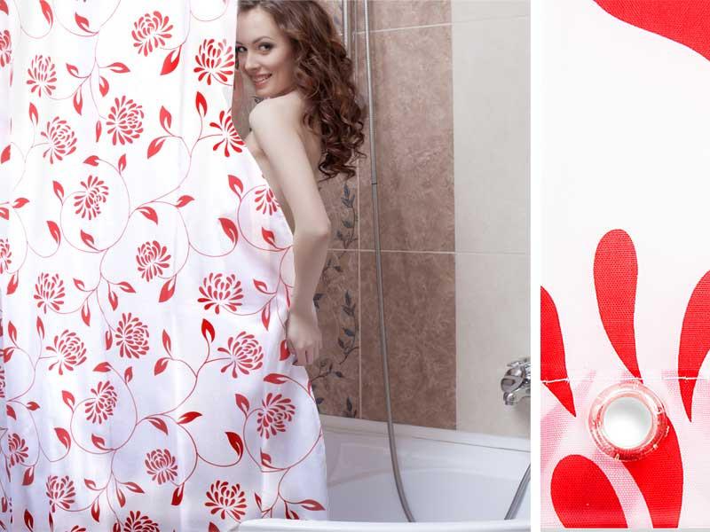 Duschvorhang Nach Maß : duschvorhang barock red casa pura ~ Watch28wear.com Haus und Dekorationen