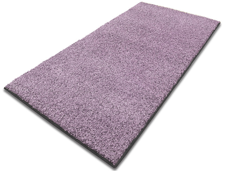 Hochflor Teppich In Lila Floordirekt De