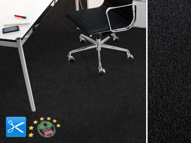 Filz-Bodenbelag als Meterware erh/ältlich BK33 Nadelfilz-Teppich in der Farbe anthrazit Beanspruchungsklasse robust /& rutschfest Nadelvlies-Auslegeware in der Breite 2m x L/änge 1,5m