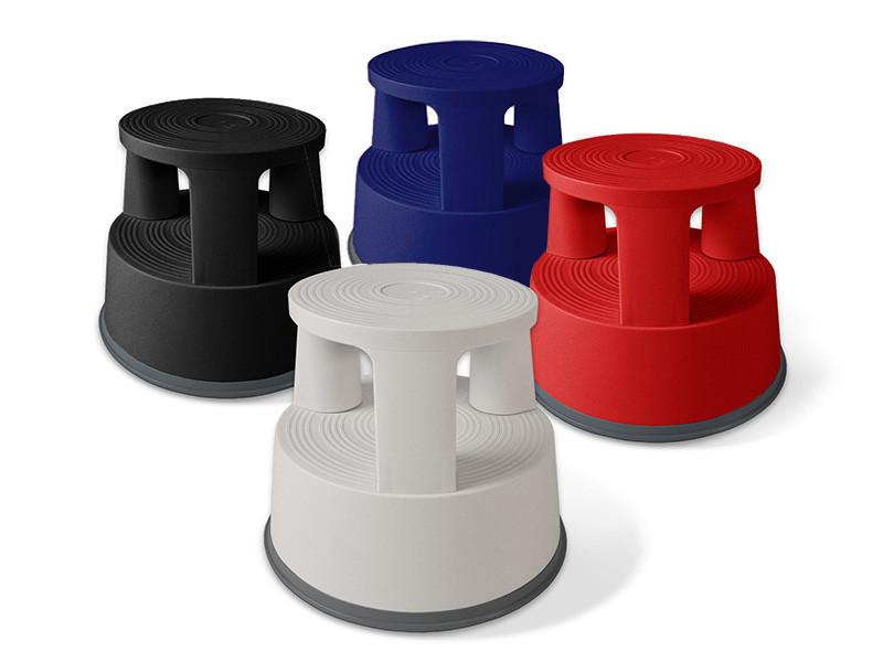 Rollhocker | Elefantenfuß | Kunststoff | 4 Farben
