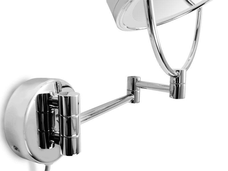 wand kosmetikspiegel mit led beleuchtung. Black Bedroom Furniture Sets. Home Design Ideas