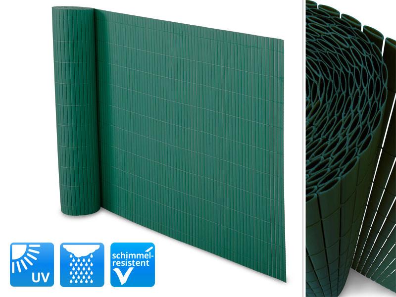 Hervorragend Sichtschutzzaun PVC grün   Floordirekt.de DV16