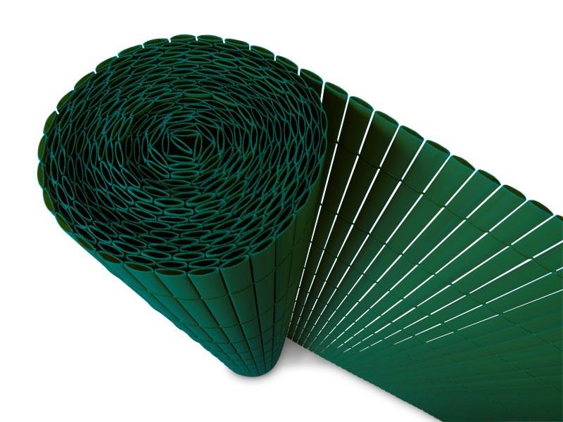 Top Sichtschutzzaun PVC grün | Floordirekt.de &OK_13