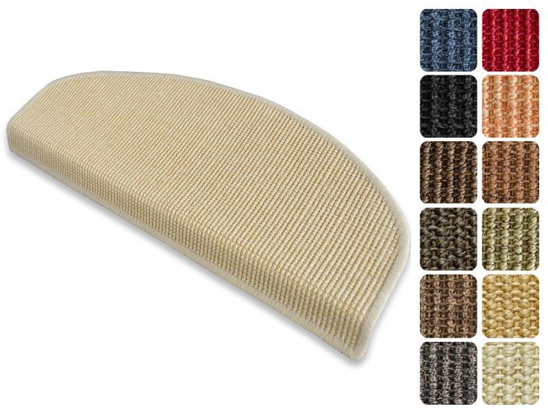 Stufenmatten Mit Pinselstrich Muster Rot 2