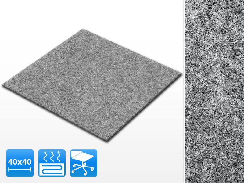 Teppichfliesen Scene Gut Gunstig Selbstklebend Farbe Grau
