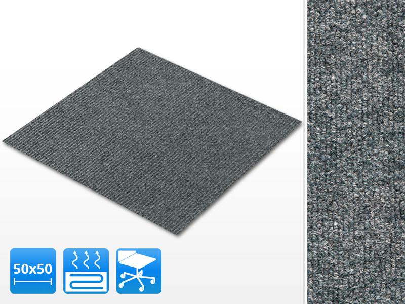 Favorit Teppichfliesen 50x50cm selbstliegend Can Can | Floordirekt.de EH02