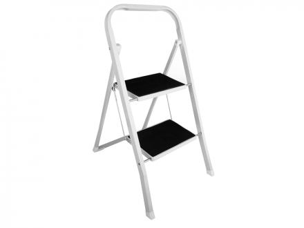 Klapptritt-Leiter mit rutschfesten Trittstufen