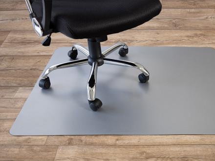Bürostuhlunterlage Hartboden | Grau