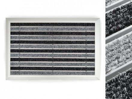Alu-Türmatte   Spectral   Textilrips   Anthrazit / Schwarz   3 Größen