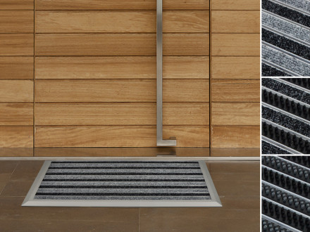 Turbo Türmatten & Fußabtreter aus Aluminium & Edelstahl   Floordirekt.de YX52