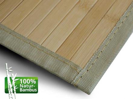 Bambus-Teppich