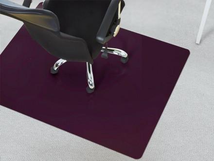Bodenschoner für Stühle Teppicboden lila