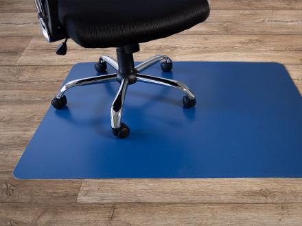 Bürostuhl-Unterlage Hartboden | Blau