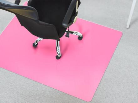 Bodenschutzmatte Teppich rosa
