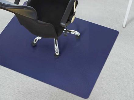 Bodenschutzmatten Teppichboden dunkelblau