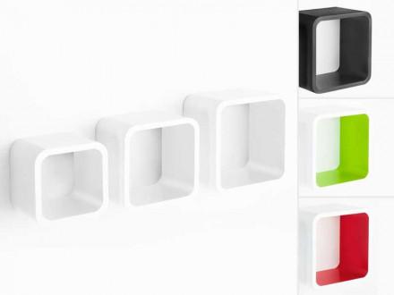 Cube Regal Cambridge | 3-teilig | 4 Farben