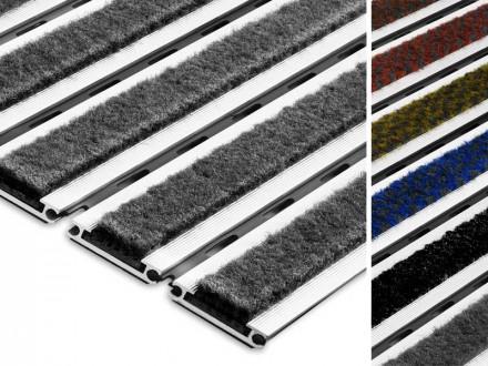 Eingangsmatte Aluflex SR Carpet