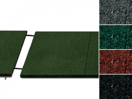Fallschutzmatte Play Protect United | 30 mm | 100x50 cm | 4 Farben