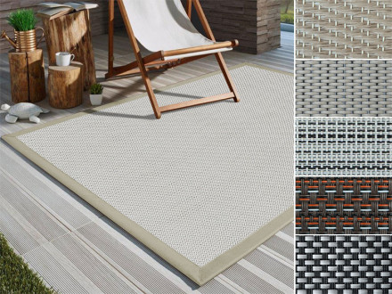 Outdoor-Teppich | Mit Bordüre | 5 Designs