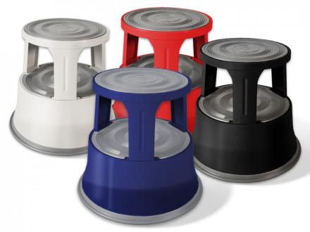 Rollhocker | Elefantenfuß | Stahl | Erhältlich in 4 Farben
