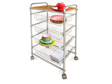 Küchenwagen 6 Etagen