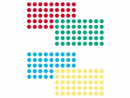 Markierungspunkte | Selbstklebend | 2 Set-Varianten | 1000 Stück