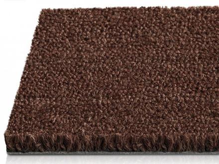 Premium-Kokosmatte | Braun | Voll durchgefärbt