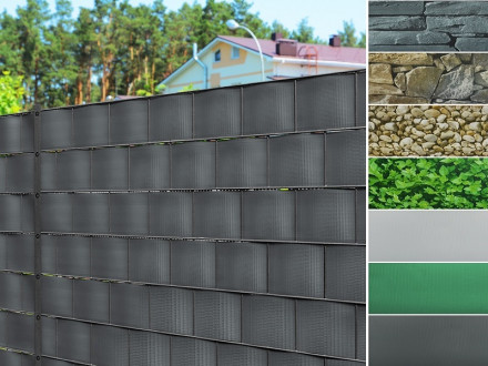 PVC-Sichtschutz-Streifen