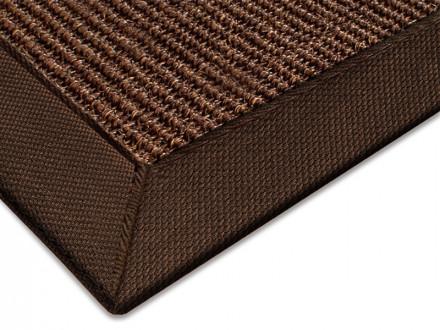 Sisal-Teppich braun