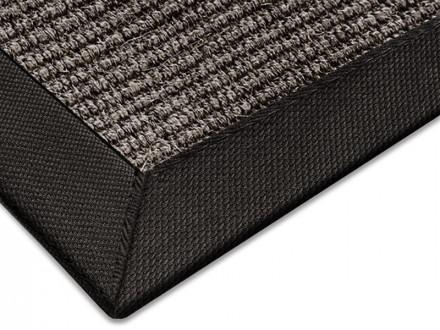 Sisal-Teppich grau