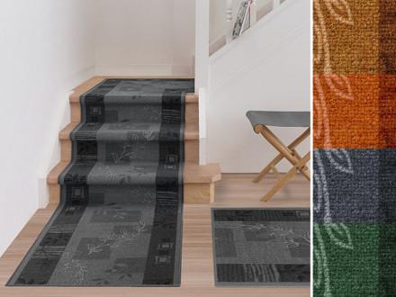 Teppich-Läufer auf Maß   Akzent   4 Farben